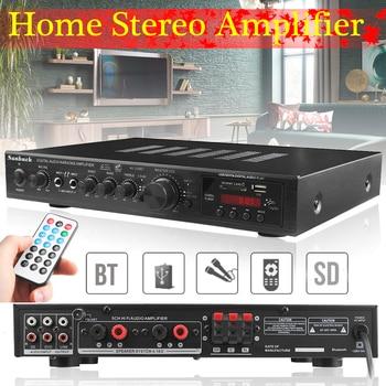 720W 5 Channel Bluetooth HiFi Stereo Amplifier LED Digital Karaoke  Amplificador Audio Home Cinema Home Theater Amplifiers