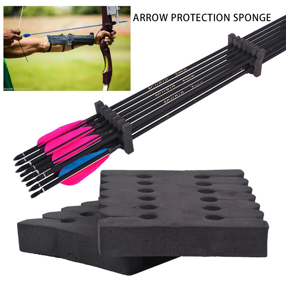 Holder EVA Foam Round Rack 12 Arrows Separator Outdoor Camping Accessories Quiver Protection Shelf Bow Split Arrow Sponge Arche