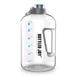 1 galon butelka wody bez BPA duża butelka wody szczelne duży czajnik Camping sport ćwiczeń i aktywności na świeżym powietrzu narzędzie w Butelki sportowe od Sport i rozrywka na