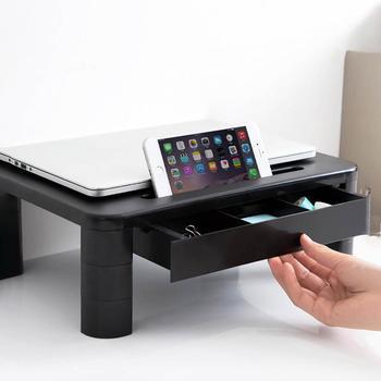Soporte para pantalla ajustable, soporte para Monitor de TV, soporte de almacenamiento para tableta y ordenador, 3 estilos