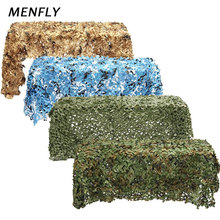 1.5x6m Simple SUN-SHELTER Outdoor Jungle Camouflage Camping Awning Net Sunshade Indoor Decoration Mountain Green Cover