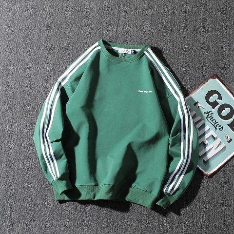 Fashion Clothing Mens Funny Hip Hop Rap Top  Pure Colour Fleece Hoodies Winter America Style Casual Sweatshirts Streetwear