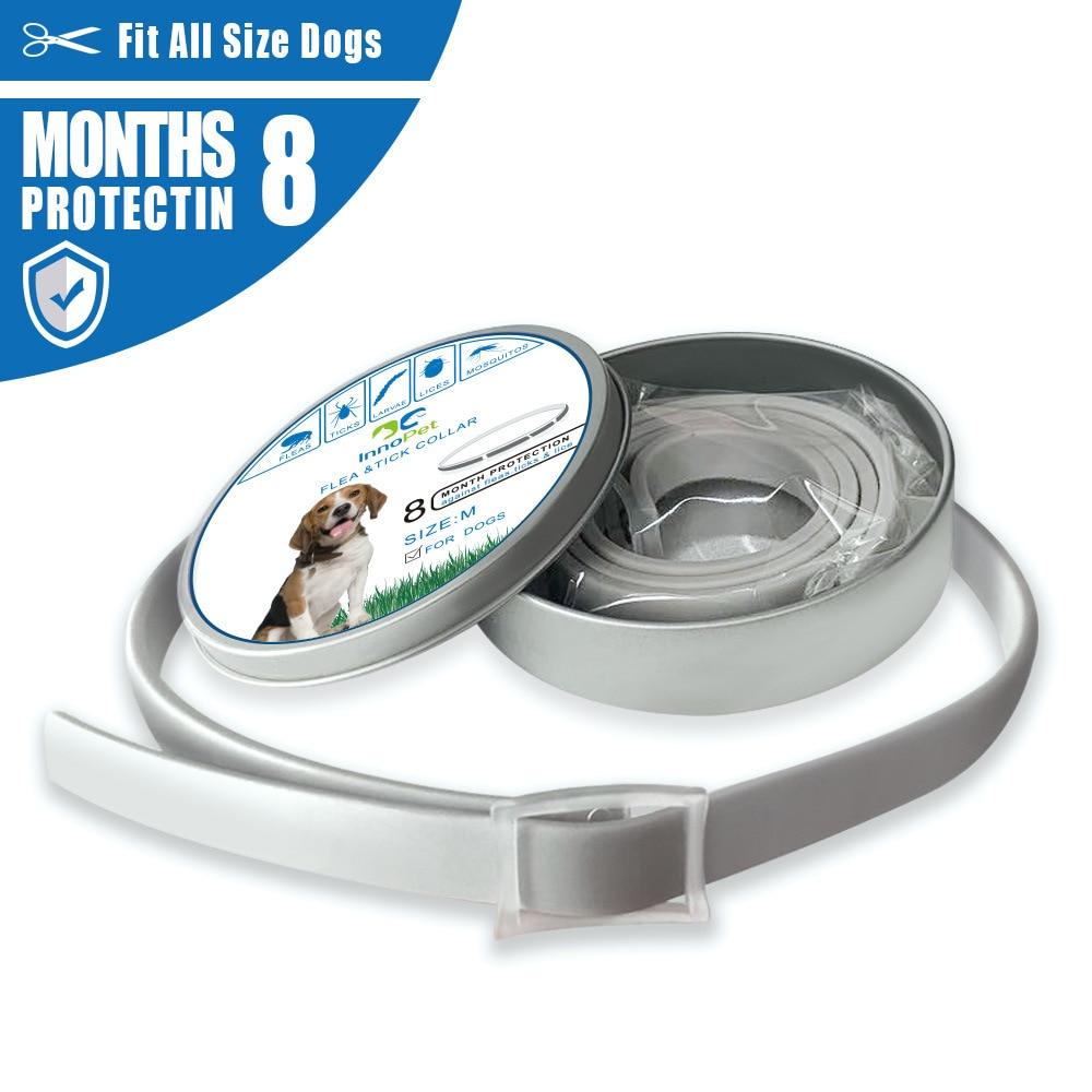 Dog Neck Ring Flea Repellent Pet Dog Repellent Neck Ring Natural Insecticide Essential Oil Flea Pet Collar