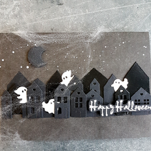 Overlapped Houses Metal Cutting Dies Decorative Die Cuts For Scrapbooking DIY Card Making New 2019 Embossed Crafts Cards