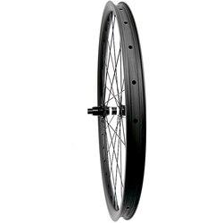 27.5er węgla koła rowerowe tarcza koła prosto pull DT350S centralny zamek zwiększyć tylne koło 35x25mm asymetria 148x 12mm mtb koła w Koła roweru od Sport i rozrywka na