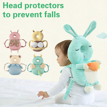 Baby Pillow Safety-Products Protective Anti-Falling-Head Toddler Cartoon Summer And Ventilation