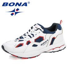 BONA 2020 New Designers Mesh Men Casual Shoes