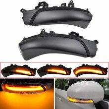 for Toyota PRIUS REIZ Camry WISH MARK X CROWN AVALON PASSO IQ EV Side Mirror LED Turn Signal Blink Lamp indicator light