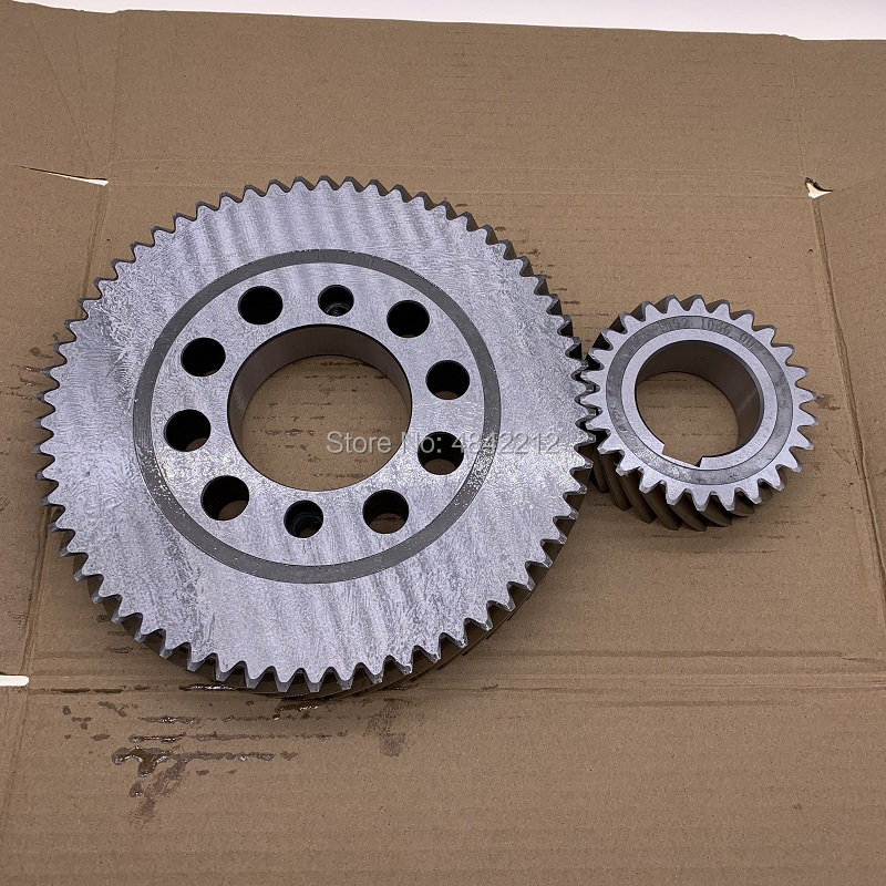 Free shipping genuine 1092103600/1092103700 driving gear wheel set for AC screw air compressor