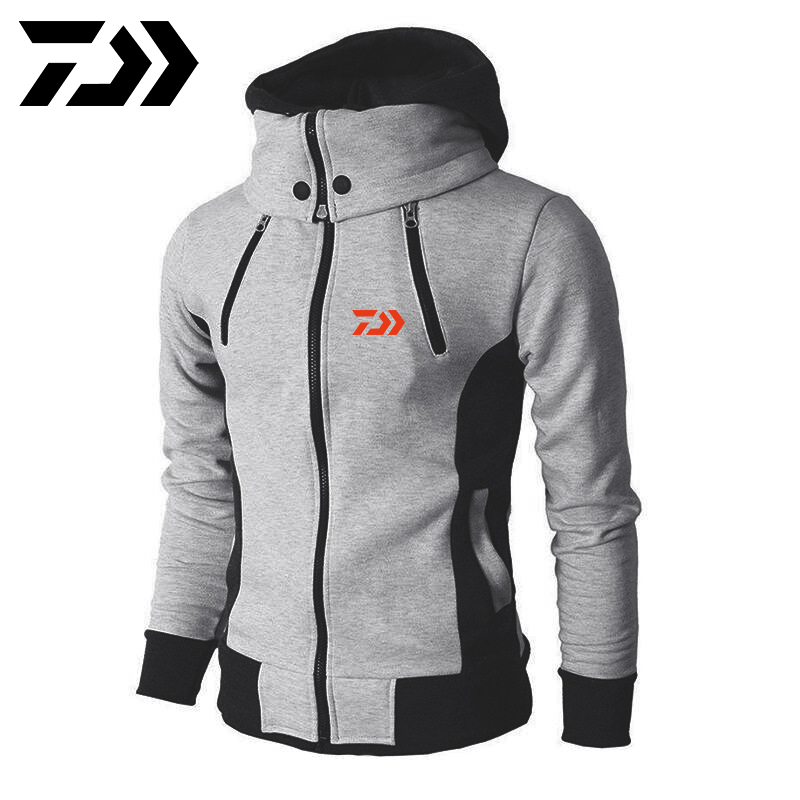 Daiwa Winter Special Rushed Anti Mosquito Roupa Pesca Men Wear Men's Clothes Fishing Clothing Mens Sports Fishing Hoodie