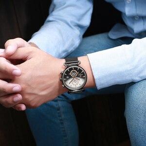 Image 5 - Chronographe récompense en acier inoxydable pour hommes, montre de Sport militaire de luxe, Top marque montre pour hommes
