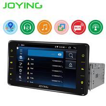 Автомобильная Мультимедийная система, 1 din, Android 8,1, аудиоплеер, навигация GPS, универсальный четырехъядерный процессор, 6,2 дюймов, Авторадио с Mirror Link