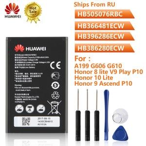 Image 1 - Batería de teléfono Original hb5076rbc para Huawei A199 G606 G610 G700 Honor 8 lite P10Lite P20lite G9 Honor 10Lite Honor9 Ascend P10