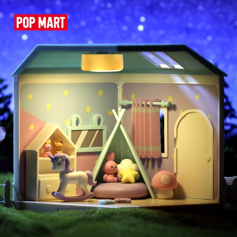 Casa de muñecas en miniatura de madera, casa de muñecas en miniatura, casa de muñecas en miniatura, casa de juguete, casa de juguete|Figuras de juguete y acción|   - AliExpress