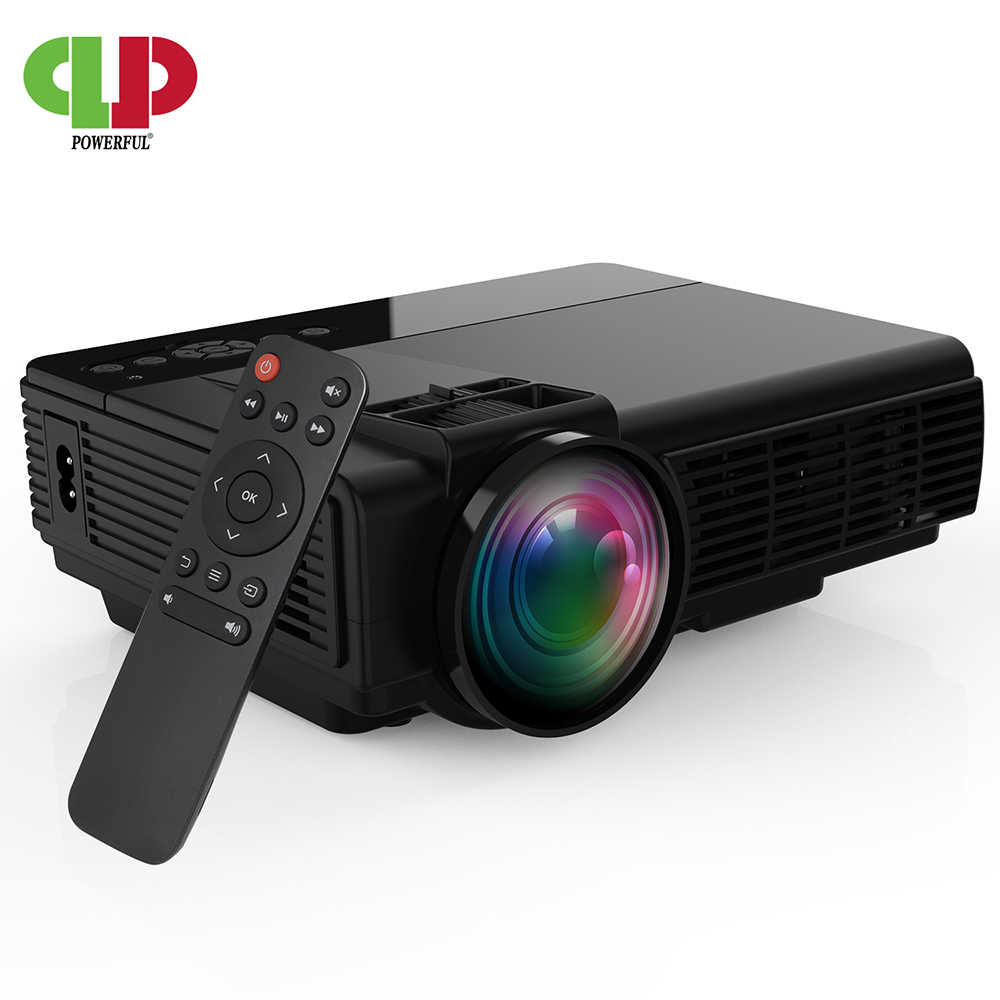 POWERFUL-proyector Mini para películas, portátil, Compatible con TV Stick, PS4, HDMI, USB, pantalla de 1080P y 170 pulgadas 2600L