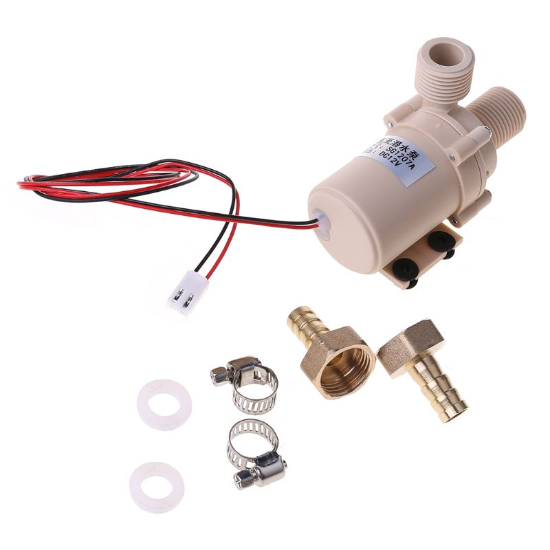 8L/Min 3M DC <font><b>12V</b></font> Solar Brushless Motor <font><b>Water</b></font> Circulation <font><b>Pump</b></font> <font><b>Submersible</b></font> <font><b>Water</b></font> <font><b>Pumps</b></font> image