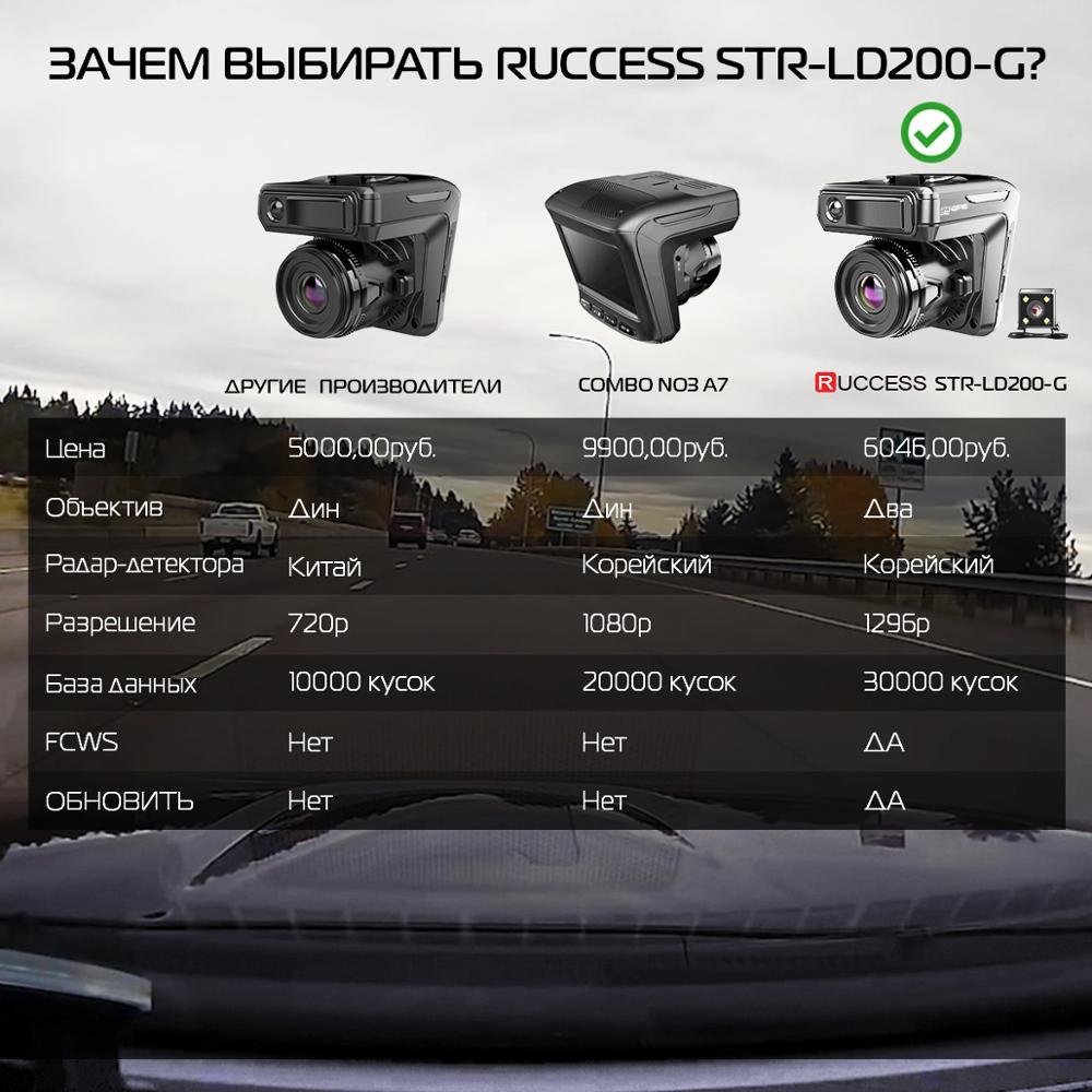 Новый Автомобильный видеорегистратор 3 в 1, видеорегистратор GPS 1296 P, автомобильная камера с двумя объективами, видеорегистратор, Автомобиль...