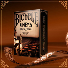Bicycle Cinema Playing Cards Poker Size USPCC Custom Limited Edition Deck New Sealed Collectable Magic Cards Magic Tricks Props недорого