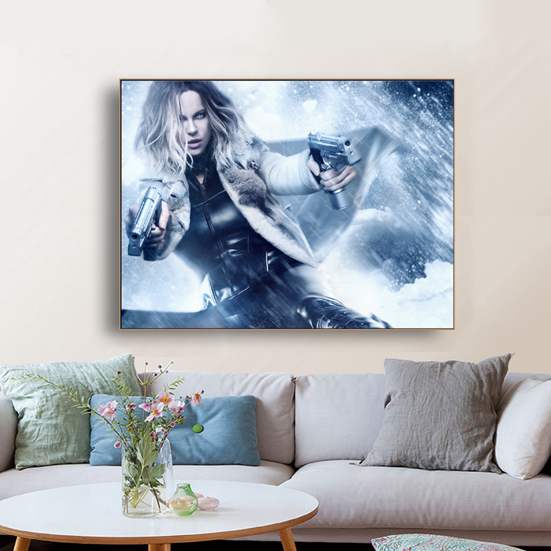 Underworld Blood Wars Movie Poster Wall Art Canvas Prints Modern Art Painting Wall Pictures for Living Room Home Decor image