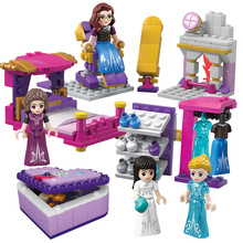 Princess Building Blocks Series Set Gifts Toys Friends Educational Bricks Model Toy For Girls Friends lepin 05045 star battle genuine series the b starfighter wing educational building blocks bricks toys legoing 10227 gifts model