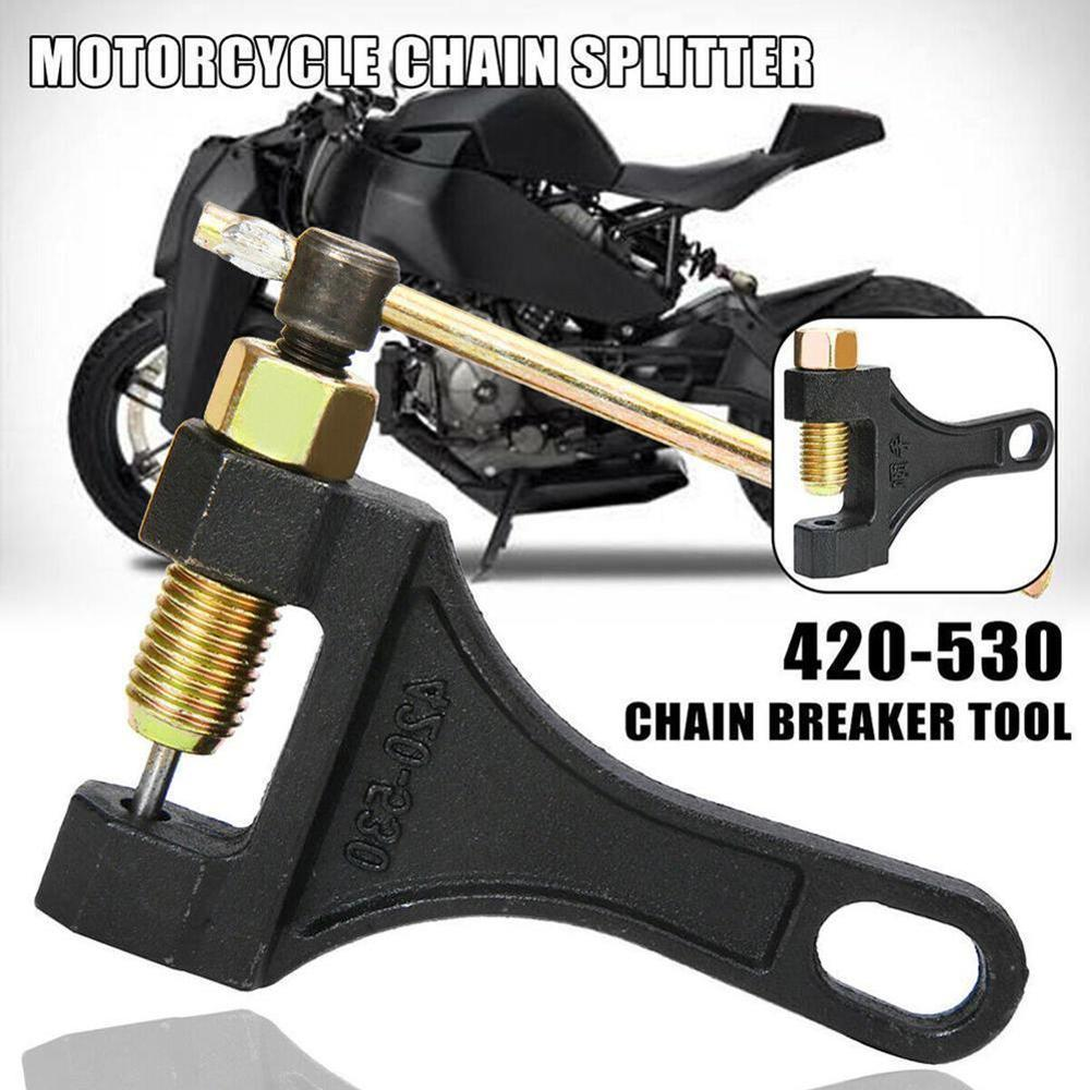 Motorcycle <font><b>Accessories</b></font> ATV 420-530 Chain Splitter Breaker Removal Repair Plier Tool For ls2 mt 07 <font><b>z900</b></font> <font><b>kawasaki</b></font> z750 <font><b>z900</b></font> image