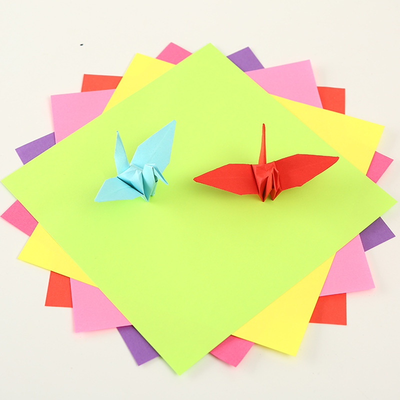 Huiyang New Products Paper Folding Creative Kindergarten Children Handmade Multi-Specification Color Square Paper A Generation O