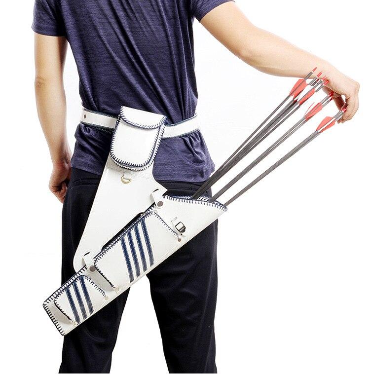 Accessoires de tir à l'arc taille croix flèche carquois tir à l'arc chasse flèches titulaire sac droitier flèche sac arbalète chasse