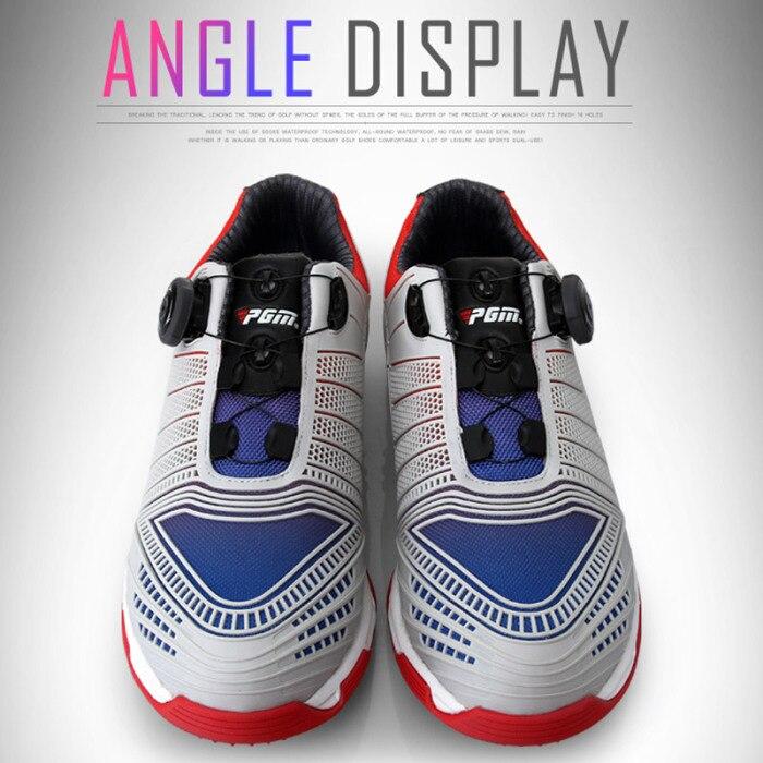 Drawbar sapatos de golfe masculino esportes sapatos
