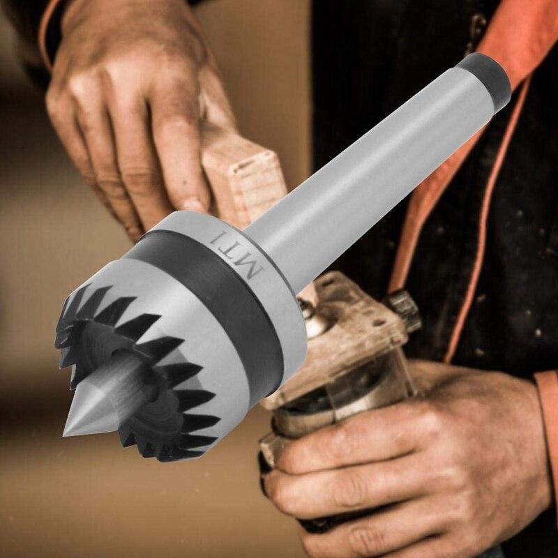 MT1 Holz Drehen Werkzeug, Heavy Duty Lager Reitstock Holz Metall Drehmaschine Live Zentrum, multitooth Holz Drehmaschine Stick Zentrum Frühling Punkt (