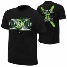 DX D génération X BREAK IT T-SHIRT hommes lutteur WRESTER T-SHIRT flambant neuf