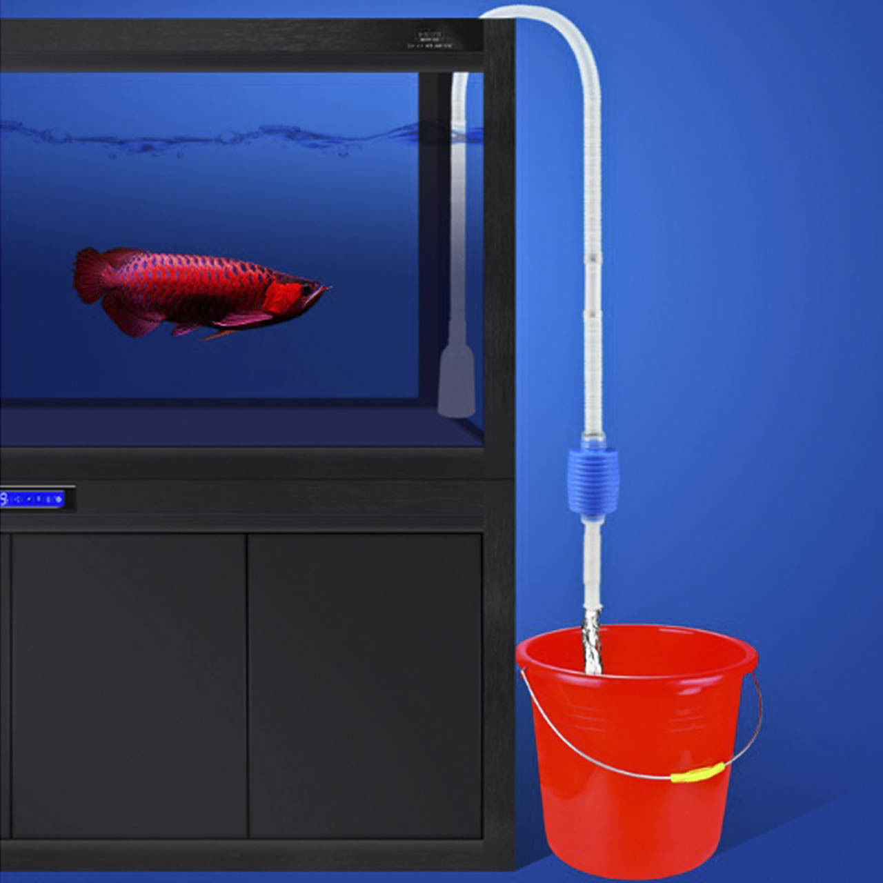 Useful Aquarium Water Filter Tool Fish Tank Cleaner Gravel Vacuum Cleaning Siphon Pump Air Pumps & Accessories