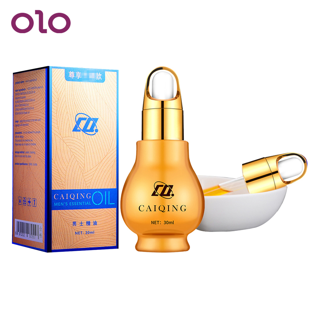OLO 30ML Penis Enlargement Essential Oil External Use Enhanced Cock Erection Penis Thickening Growth Products For Adult