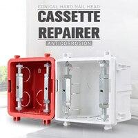 Schalter Buchse Kassette Schrauben Unterstützung Stange Wand Halterung Schalter Box Reparatur Elektrische Zubehör Werkzeug CLH @ 8
