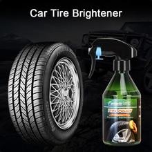 260ml Car Tyre Shine Polish Wax Accessories Auto Tire Shiny Polishing Spray Wax Coating Care Detailing Brightener Agent