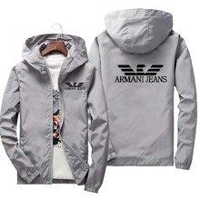 2021 men's women's spring and summer bomber jacket lightweight casual jacket windbreaker thin zipper New