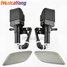 Headlight Washer Nozzle Cover For Mazda 6 Mazda6 GH 2007 2008 2009 2010 Headlamp Water Spray Nozzle Washer Lid Actuator Motor