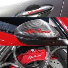 CALIPER de freno de vinilo para Alfa Romeo, calcomanías adhesivas con Logo de coche, insignias adhesivas para giulietta Mito 147 156 159 166, 4 Uds.