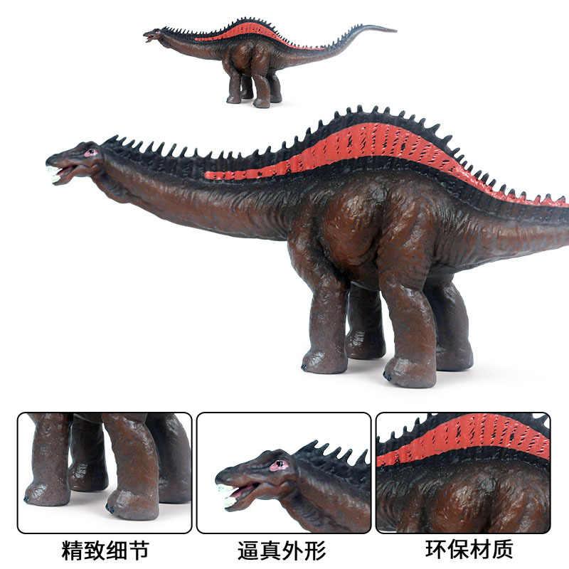 Jurássico simulado dinossauro modelos de brinquedo para crianças reba qi jungceylon plástico estática dinossauro modelo ornamentos