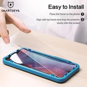 SmartDevil gehärtetem glas für Redmi hinweis 8 pro 10X screen protector für Redmi K20 pro K30 pro 2,5 D curved anti blau licht 2 stücke