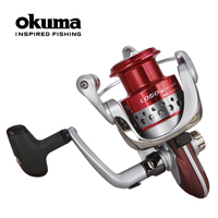 Fishing tackle okuma gray wolf ii loeii 3000 fishing tackle fishing vessel wheel spinning reel