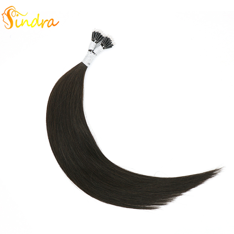 Sindra Straight Micro Beads None Remy Nano Ring Links Human Hair Extensions 14