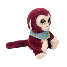 Cute Mimicry Pet Talking Monkey Repeats What You Say Electronic Plush Toy toys for children brinquedos boneca For Children(China)