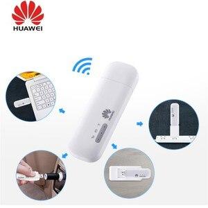 Image 1 - Оригинальный разблокированный Huawei 4G аппарат не привязан к оператору сотовой связи USB Wi Fi модем Wingle автомобиля беспроводной доступ в Интернет, стикер Huawei E8372H 155 E8372H 320 E8372h 820 E8372h 517