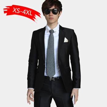 2020 Luxury Men Wedding Suit Male Blazers Slim Fit Suits For Men Costume Business Formal Party Blue Classic Black Gift Tie