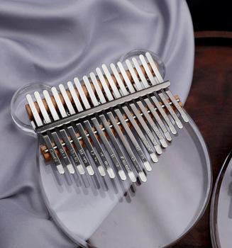 17 klawiszy Kalimba kciuk fortepian 17-tonowy kryształ kciuk palec fortepian Kalimba Instrument muzyczny zabawki edukacyjne dla dzieci dorośli tanie i dobre opinie Z tworzywa sztucznego Do nauki Niewyciągane Nieelektryczna 15 skal Toys for Children Adults Thumb Piano Dzieci nauka i ćwiczeń typu