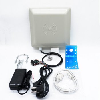 8dbi antenna rs232 rs485 wiegand read 6m integrative uhf reader 50 uhf rfid windshield adhesive tags Best Quality Integrative UHF RFID card reader 6M long range 8dbi Antenna RS232/RS485/Wiegand of parking management system