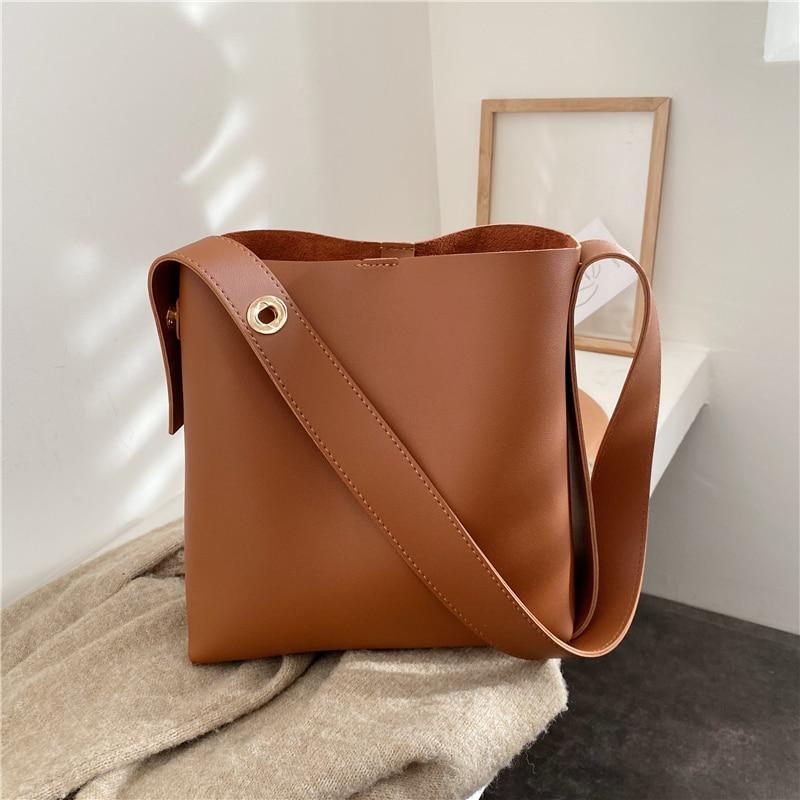 Купить сумка мешок через плечо burminsa большая вместительная сумка