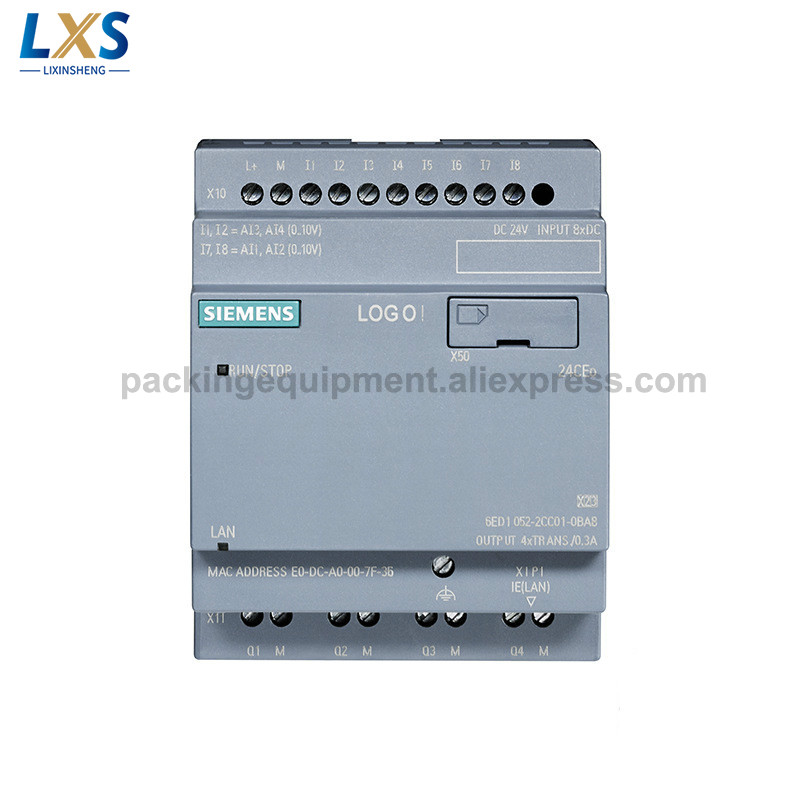 SIEMENS PLC LOGO! 24CEO Basic Modules 6ED1052-2CC08-0BA0 8-Smart Logic Module Without Display