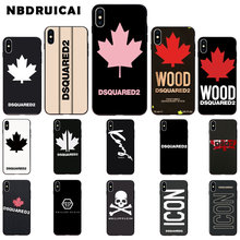 NBDRUICAI Italy luxury brand TPU Soft Silicone Phone Case Cover for iPhone 11 pro XS MAX 8 7 6 6S Plus X 5 5S SE XR case(China)