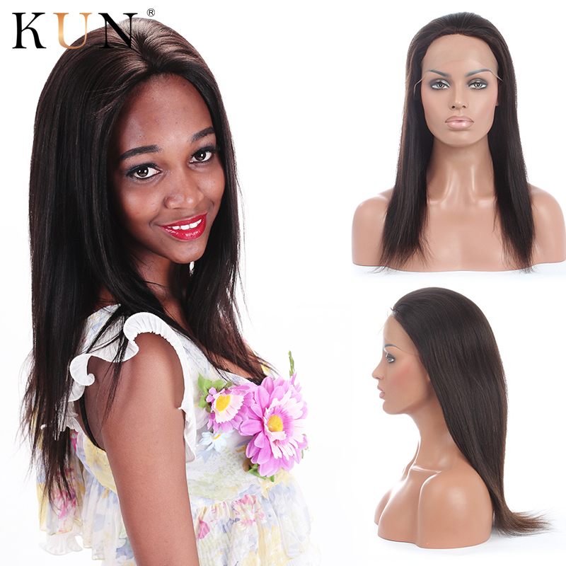 Star Style Yaki Straight 13X4 Lace Front Human Hair Wigs 150 Density Pre Plucked For Women Brazilian High Ratio Remy Lace Wig